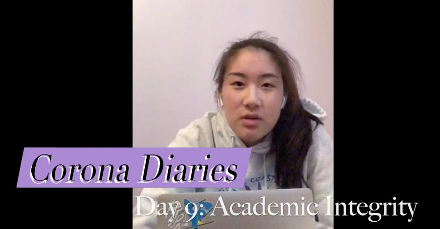 Corona Diaries | Day 9: Academic Integrity