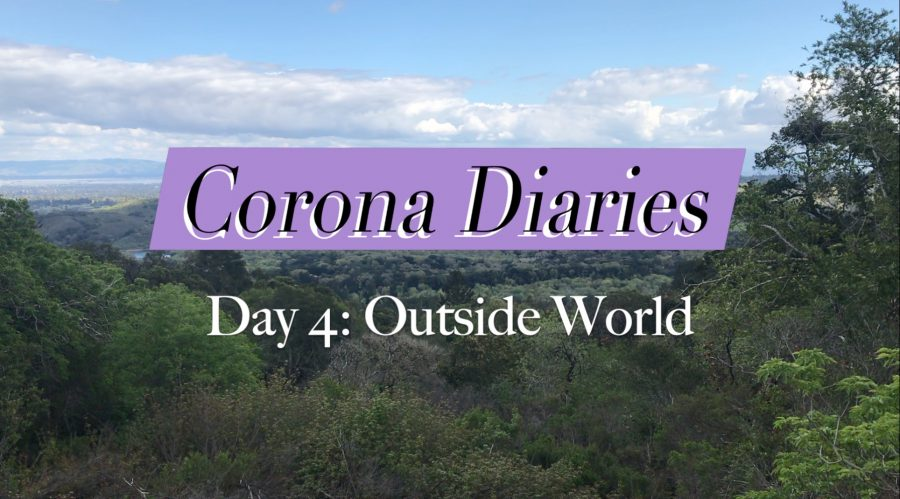 Corona Diaries | Day 4: Outside World