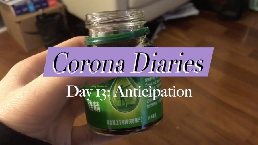 Corona Diaries | Day 13: Anticipation