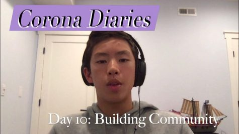 Corona Diaries | Day 10: Building Community